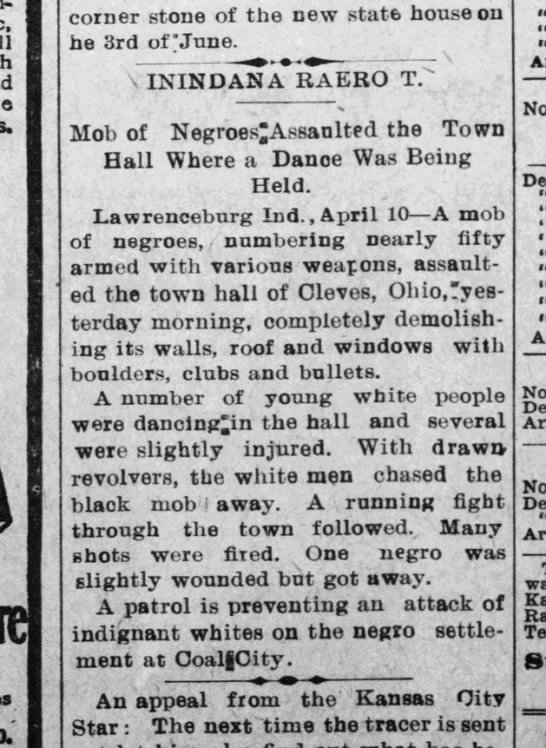 Negros attack town hall -