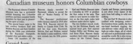 Rodeo Family of the Year -