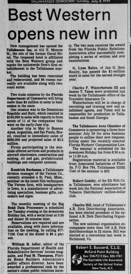 Clipping from Tallahassee Democrat - Newspapers com