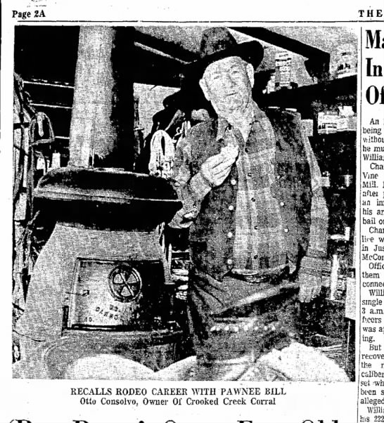 Pappo and LORD do I remember that stove! And him (sigh) more like my grandfather. - Page2A T H RECALLS RODEO CAREEK WITH PAWNEE...