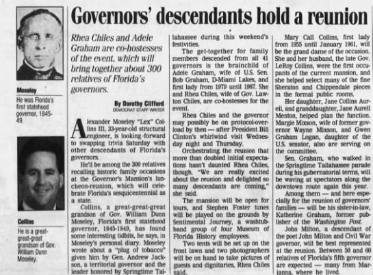 Article From Tallahassee Democrat Tallahassee Fl 03 30 1995 On
