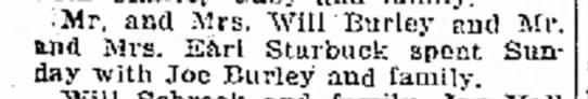 Will Burley 4 Apr 1919 Logansport Pharos -