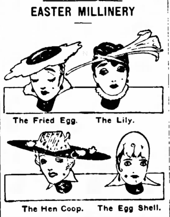 Easter-themed Hats -