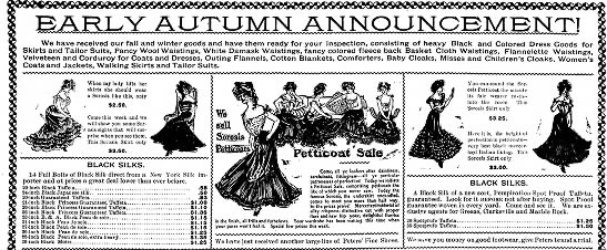 1903 Petticoat Illustrations -