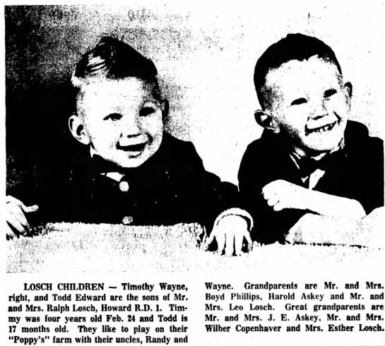 Harold Askey grandsons -