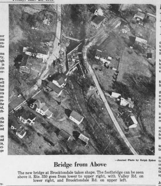 New 330 bridge, March 25, 1966 -