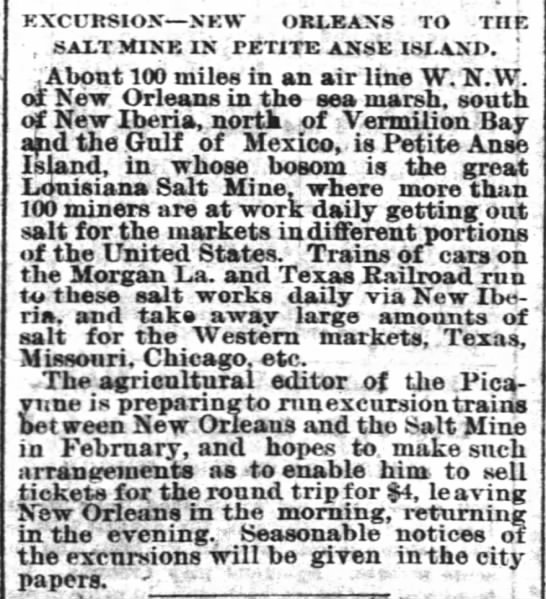 The Times-Picayune (New Orleans) Jan. 26, 1885 -