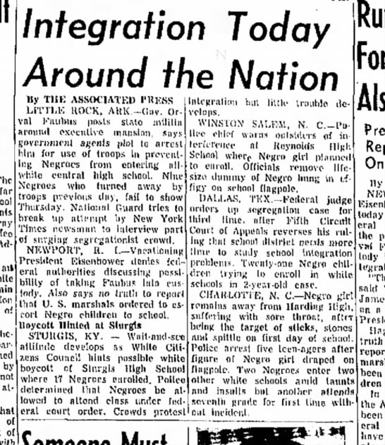 Sept. 5, 1957 Thursday -