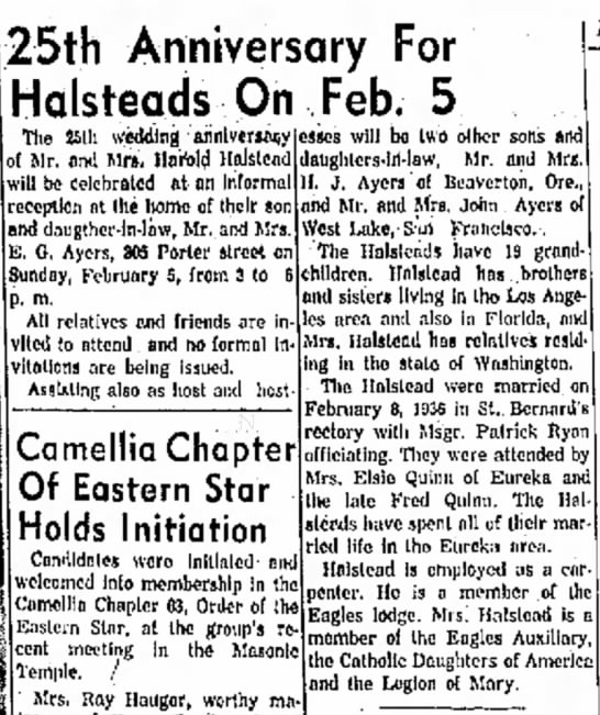Eureka Humboldt Standard