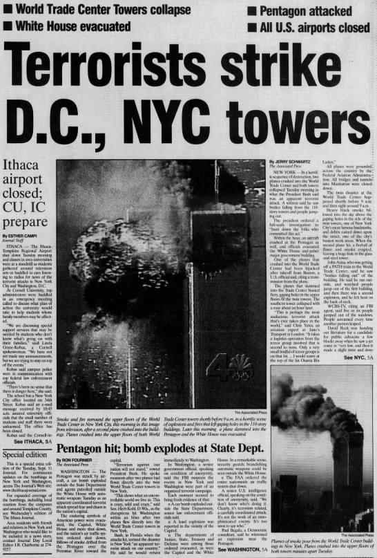 Sept 11, 2001 -