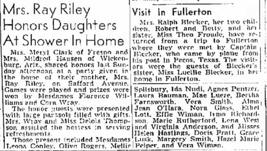 The Fresno Bee7 Nov 1943 -