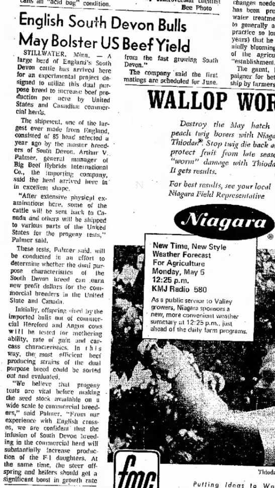 The Fresno Bee The Republican 4 May 1969 -