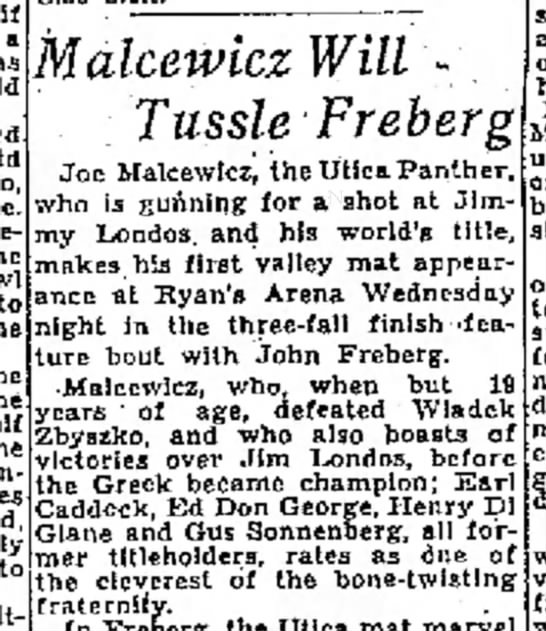 Malcewicz Tues. 11/27/34 The Fresno Bee The Repulican -