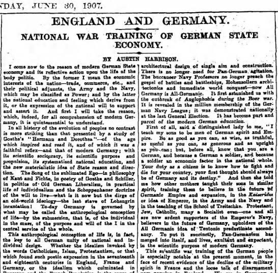 National War Training of German State Economy -