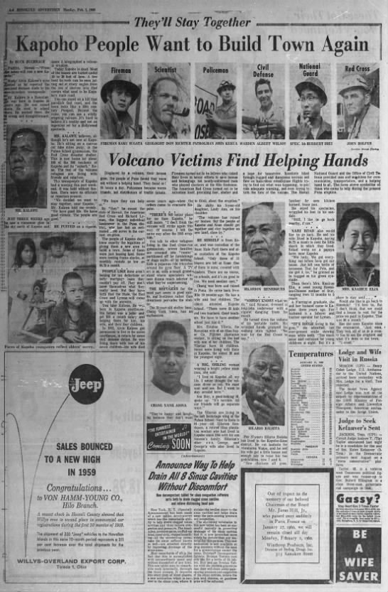 1960: Kapoho people want to build town again -
