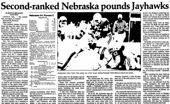 1987 Nebraska-Kansas, Salina Journal -