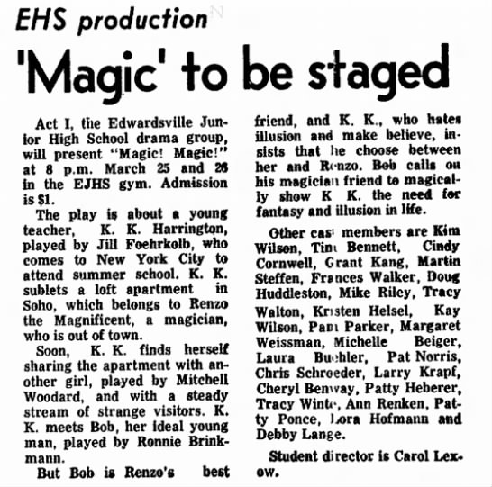 1977 March 22 Magic, Magic -