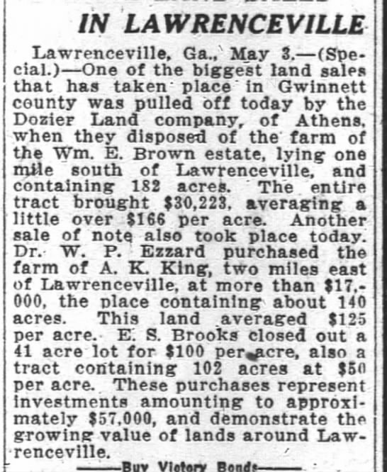 4 May 1919 Atlanta Constitution -