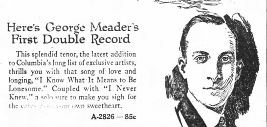 Meader, recording artist, graphic -