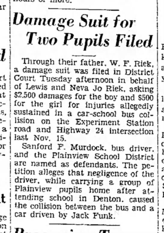Denton Record-Chronicle May 25,1938 -