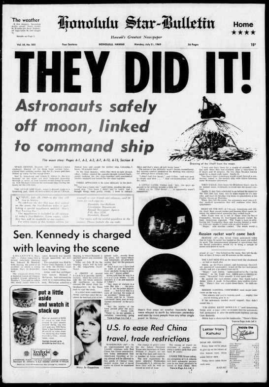 They did it! Moon landing 1969 -
