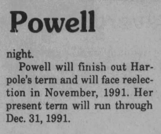 1990 12 20 Webster Progress-Times Thu p10, Powell -
