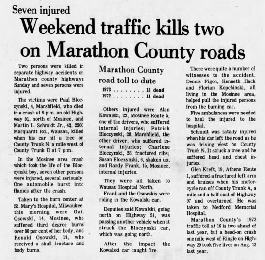 Clipping from Wausau Daily Herald - Newspapers com