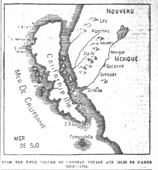 SF Chronicle 18951724 French Map -