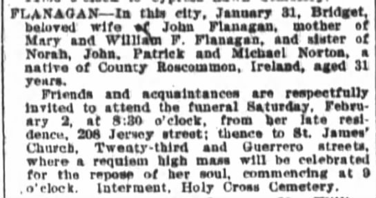 SFChronicle 1 Feb 1907