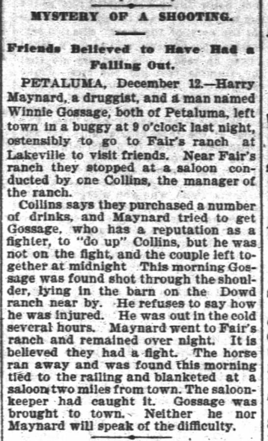 San Francisco Chronicle (San Francisco, CA) 13 Dec 1895, page 4 -