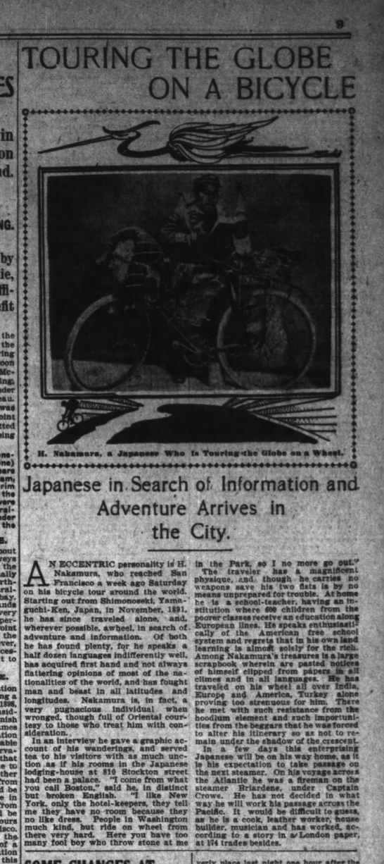 Nakamura, SF Chronicle, April 15 1903, p. 9:6&7 -