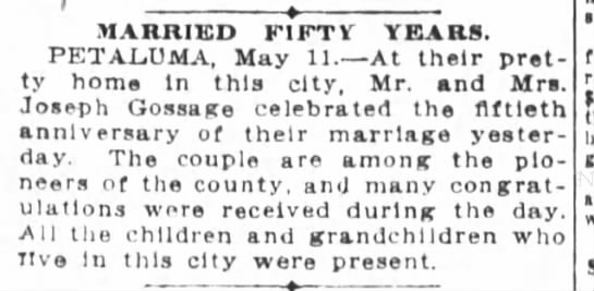 San Francisco Chronicle (San Francisco, CA) 12 May 1911, page 17 -