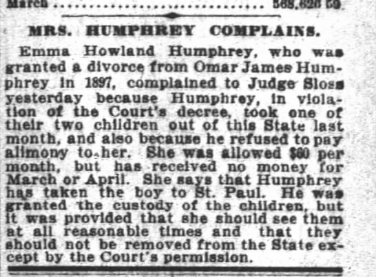 OJHsr granted custody of boys with emma morrison sf chronicle 27Ap1902 -