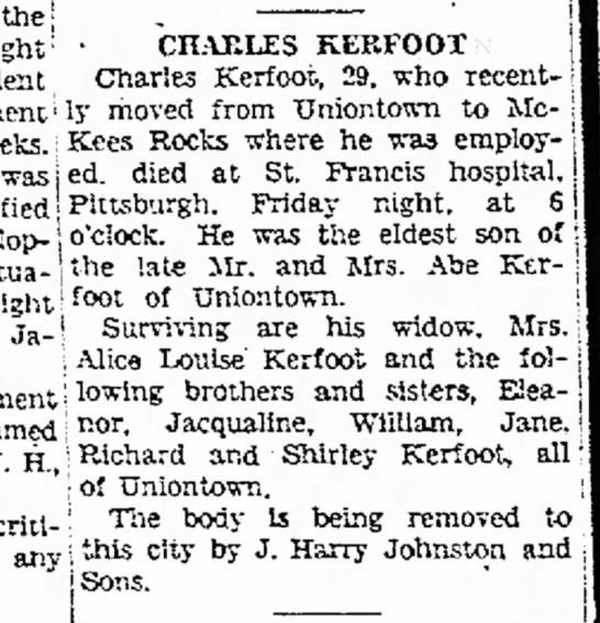 Charles Kerfoot -
