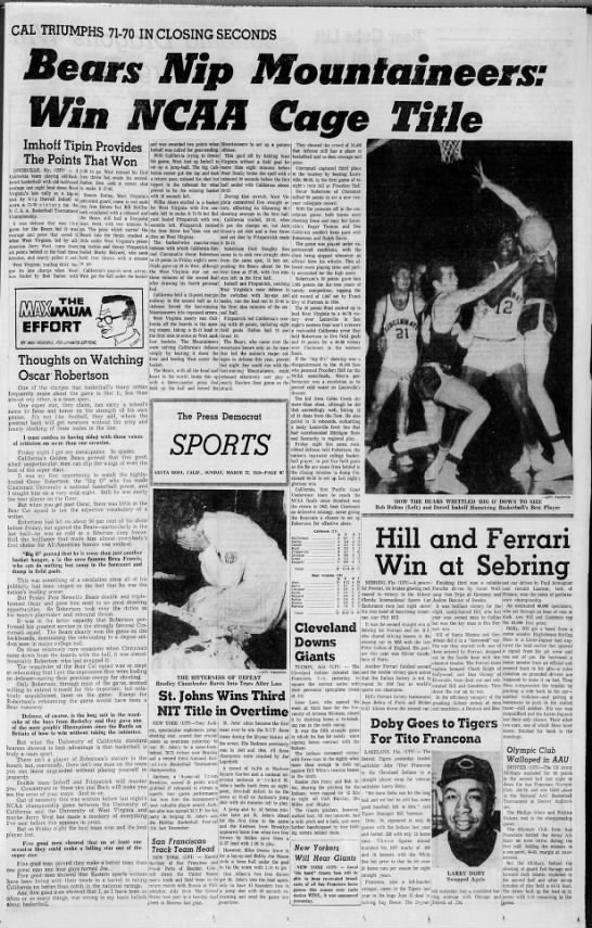 1959 NCAA men's basketball championship -