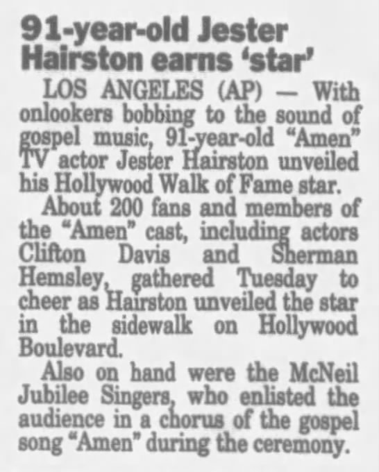 Walk of Fame star -