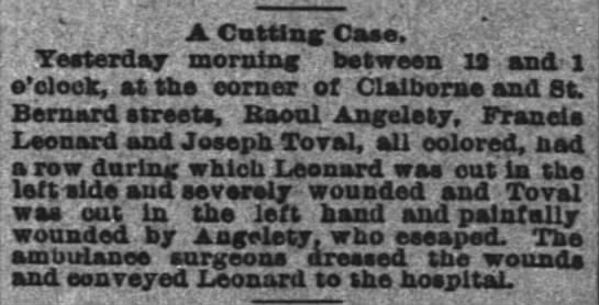 Angelety, in a Cutting Case, Raoul Angelety??  -