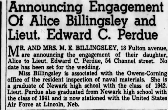 ENGAGED  The Newark Advocate Pg 6 -
