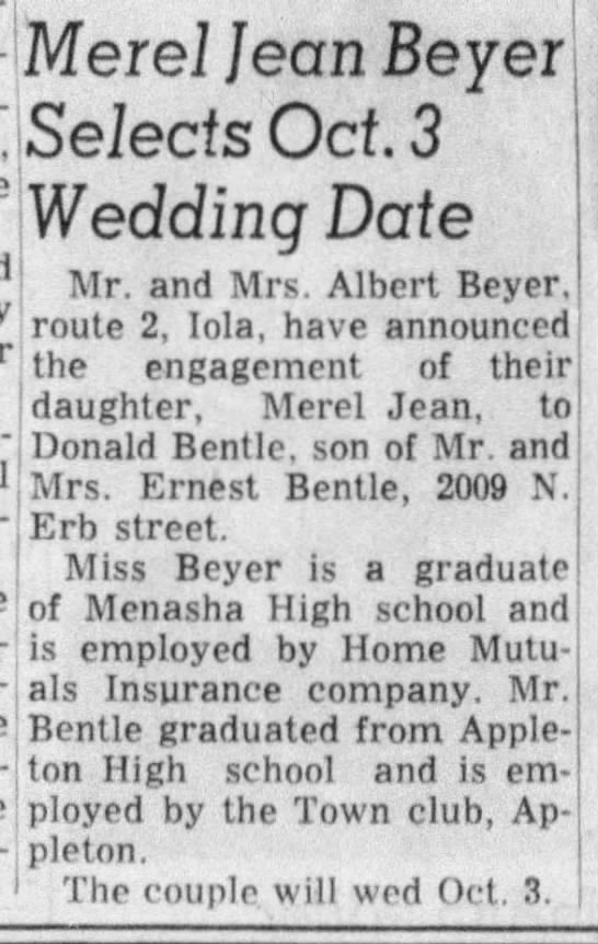beyer and company dating