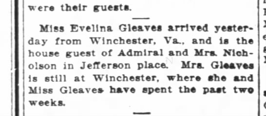 Back from Winchester WPost 3/25/1915 -