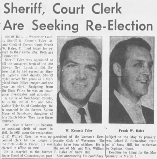 Frank W Hales-Court Clerk Re-Election - Newspapers com