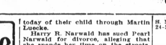 R/Paul,Blanche Toenges,The Fort Wayne Sentinel, Th, Aug. 25, 1921, p.8 -