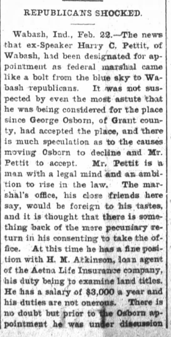 Harry C Pettit pg1 2-22-1901 -