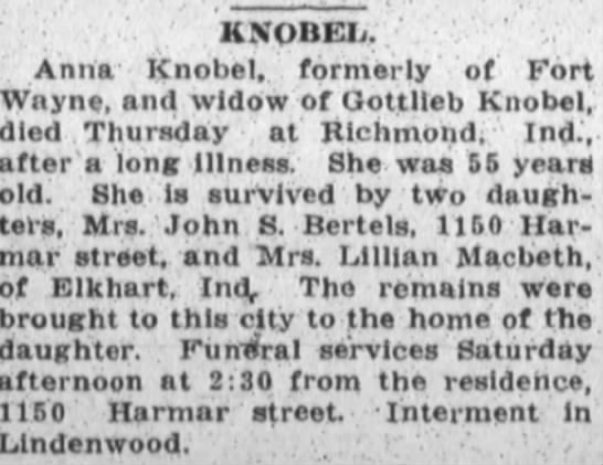 The Fort Wayne Sentinel
