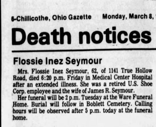 - S-Chitllcothe. Ohio Gazette Monday, March 8,...
