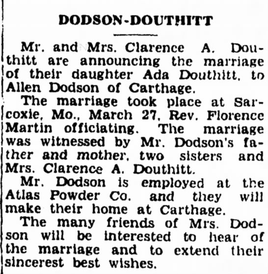 Clarence Douthitt