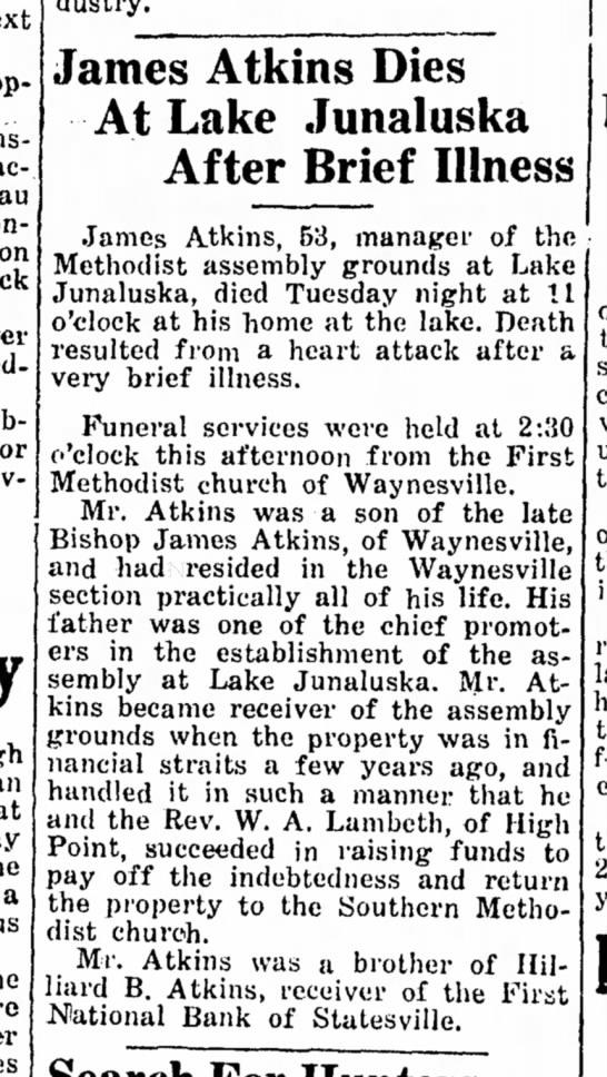 James Atkins, Jr. Death -