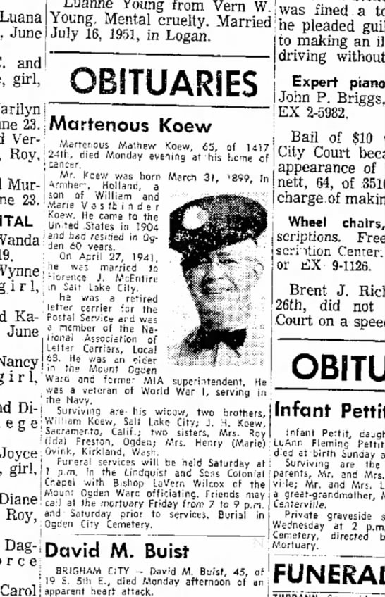 June 23, 1964 - Ogden Standard Examiner - Tuesday -