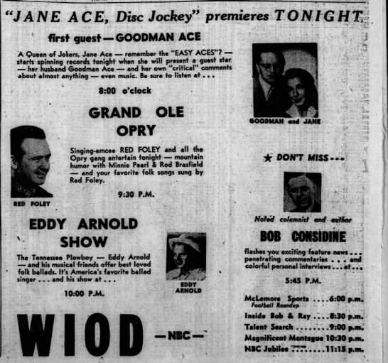 Jane Ace Disk Jockey -