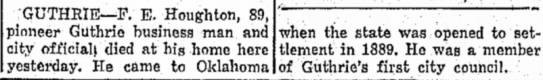 Death Announcement 1943 Miami Daily News 23 Feb 1943 -